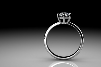 platinum ring